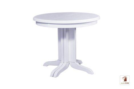 Okrągły stół rozkładany w stylu skandynawskim ROCABILLY Elegant SKO-49