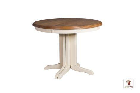 Okrągły stół rozkładany do salonu i jadalni Rockabilly Elegant II