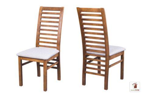 Drewniane krzesła tapicerowane do salonu i jadalni IWO KNT-09