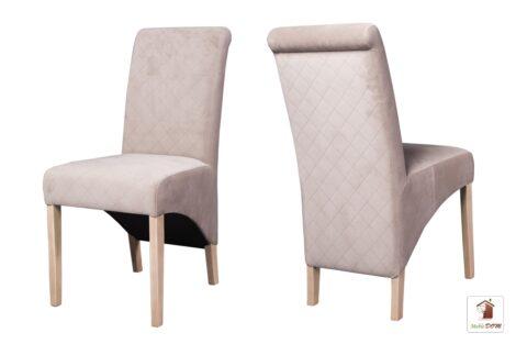 Miękkie krzesła tapicerowane do salonu i jadalni CC-4 KNT-32