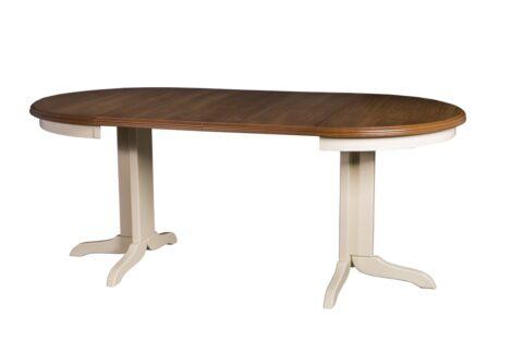 Okrągły stół rozkładany do salonu i jadalni Rocabilly Elegant II SKO-49