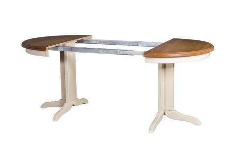 Prowadnice stołu rozkładanego do salonu i jadalni Rocabilly Elegant II SKO-49