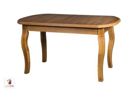 Prostokątny stół rozkładany 120 lub 140 SWAN Elegant Curved