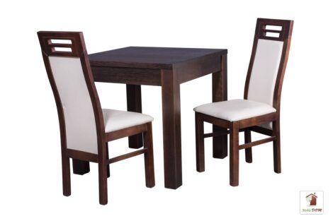 Kwadratowy stół rozkładany do salonu i jadalni Strong Square z krzesłami Rotterdam