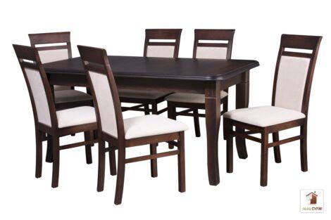 Kwadratowy stół rozkładany Diament z krzesłami MAY
