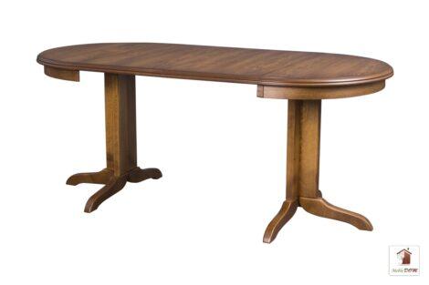 Okrągły stół rozkładany do salonu i jadalni ROCKABILLY