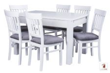 Kwadratowy stół rozkładany STRONG SQUARE z krzesłami Milano