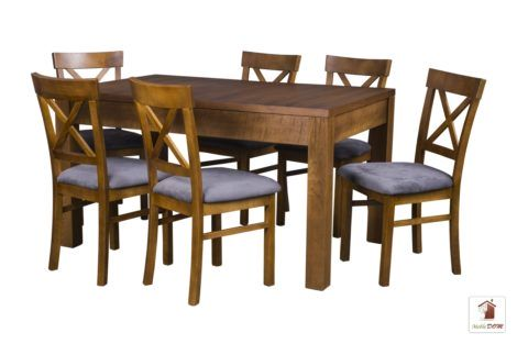 Kwadratowy stół rozkładany Strong Square z krzesłami Nord One