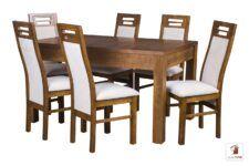 Kwadratowy stół rozkładany STRONG SQUARE II z krzesłami Rotterdam