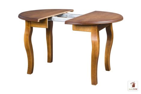 Okrągły stół rozkładany do salonu i jadalni SWAN Elegant