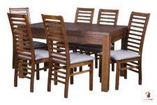 Kwadratowy stół rozkładany STRONG SQUARE II z krzesłami IWO II
