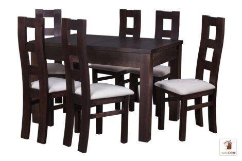 Kwadratowy stół rozkładany STRONG SQUARE II z krzesłami OPEN2