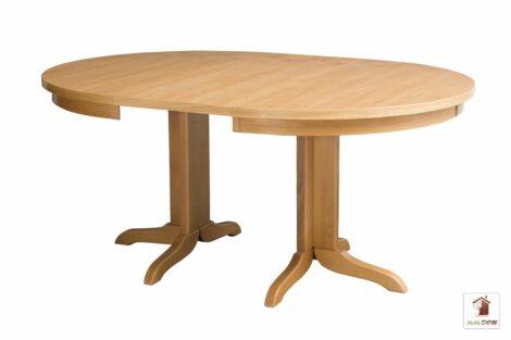 Okrągły stół rozkładany 90 do 120 cm ROCKABILLY Flat SKO-93