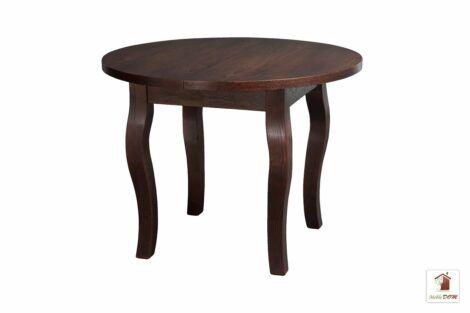 Stół okrągły rozkładany SWAN 90-120 cm
