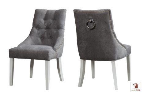 Stylowe krzesła DIANA KST-105 typu CHESTERFIELD