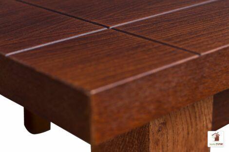 Stół rozkładany prostokątny do jadalni 120 lub 140 cm NATUR II